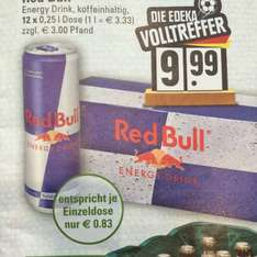 Red Bull 12 er Pack @ Edeka