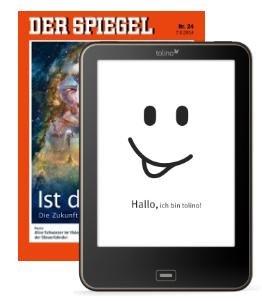"""""""Der SPIEGEL"""" und neues Tolino Vision - für Studenten"""