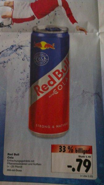 RedBull Cola für 0,79 Euro bei Kaufland [evtl. Lokal HH]