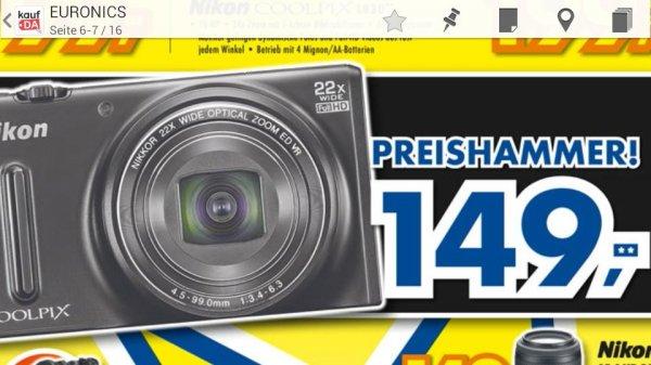 [LOKAL?] Nikon Coolpix S9600 für 149€ @ Euronics