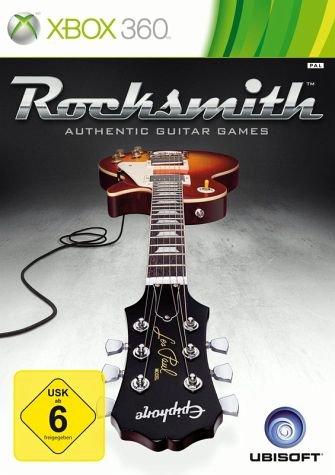[Bücher.de] Rocksmith - Authentic Guitar Games inkl. Kabel (Xbox 360) für 25,99 Euro (inkl. Versand) deutsche Version
