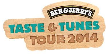 """Ben&Jerry's """"Taste & Tunes Tour 2014"""": Gratis Eis in vielen Städten ab 26.06.  (Deutschland, Österreich, Schweiz)"""