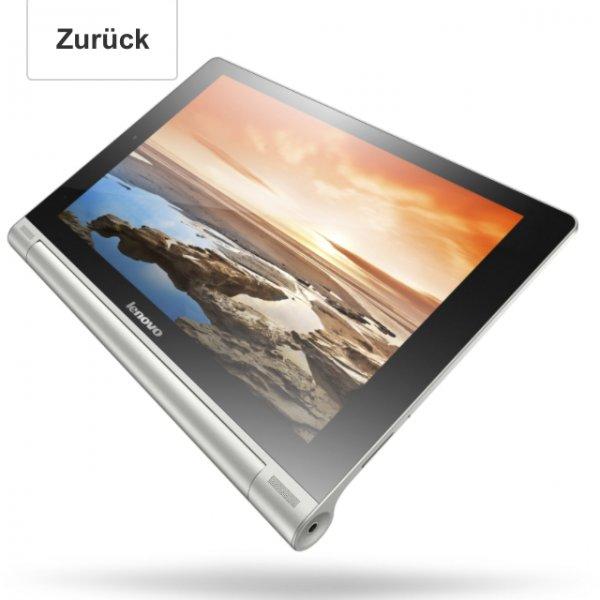Lenovo Yoga10 25,4 cm (10 Zoll HD IPS) Tablet (ARM MTK 8389, 1,2GHz, 1GB RAM, 16GB eMMC, Android, 3G, Tastatur) grau