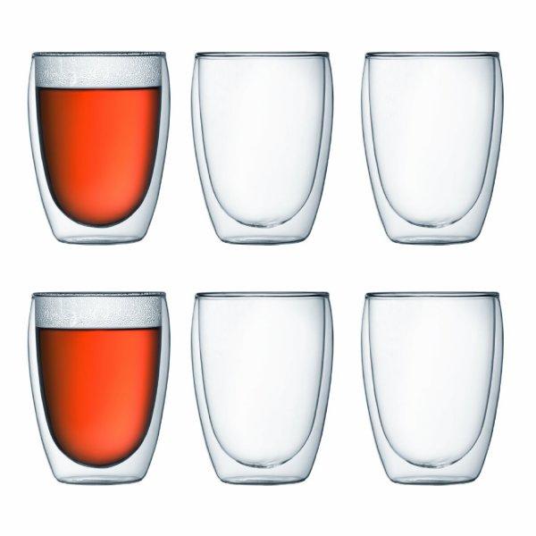 Bodum 4559-10-12 Pavina Gläser, 6x 0.35 Liter doppelwandig @amazon.de für 35,58€