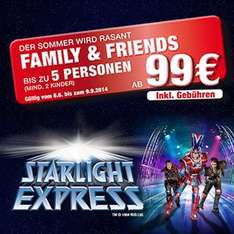 Starlight Express Bochum: 5 Musical Tickets ab 99 Euro!