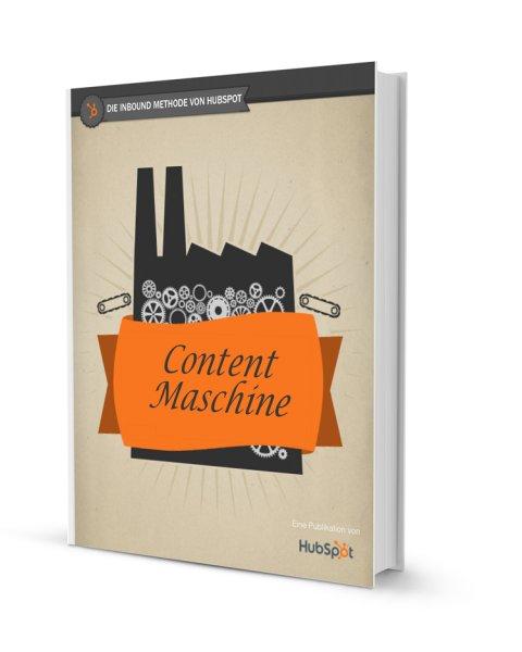 Kostenloses EBook - CONTENT MASCHINE
