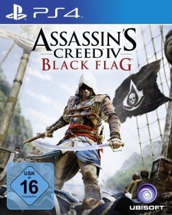 [Amazon.de] Assassin's Creed IV Black Flag (PS4) inklusive kostenlosem Steelbook für 39,97 € inklusive Versand