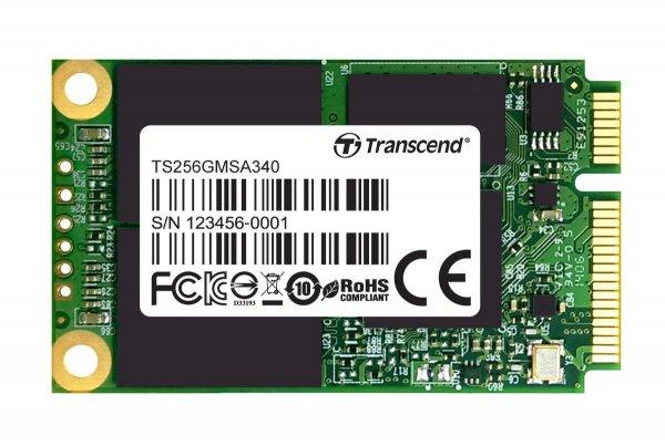 [Amazon Blitzangebot 10Uhr] Transcend TS256GMSA340 interne SSD 256GB (2,5 Zoll, mSATA III, MLC) für 97,90 EUR