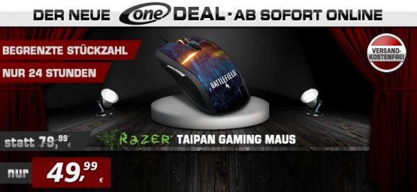 Razer Gaming Maus - Taipan BF4 Style - 49,99 inkl. Versand bei One.de