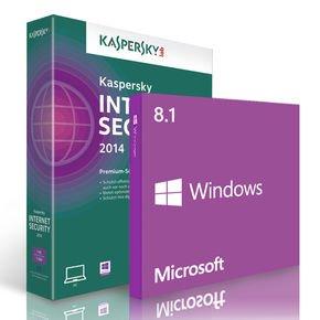Microsoft Windows 8.1 64bit COEM Vollversion & Kaspersky Internet Security 2014 @notebooksbilliger