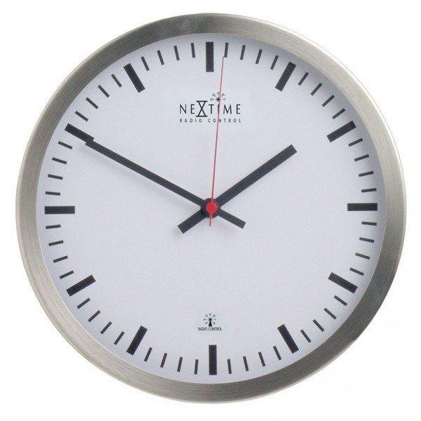 UPDATE - noch mehr Uhren reduziert worden - Nextime Funkuhr aus Edelstahl mit Glasscheibe für 19 EUR