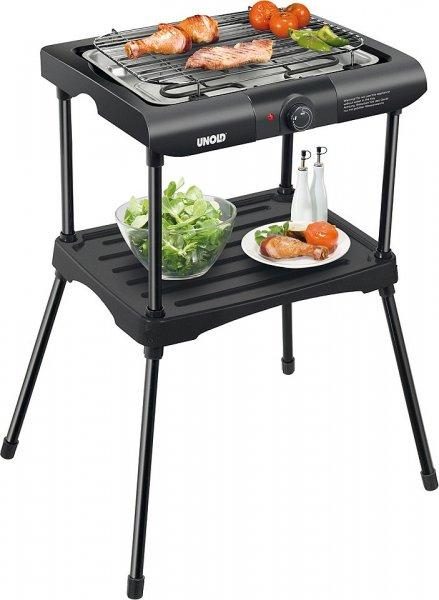 """[schwab neukunden] UNOLD Barbecue Grill 58550 elektro Standgrill """"BLACK RACK"""" für 22,90€ inkl. versand"""