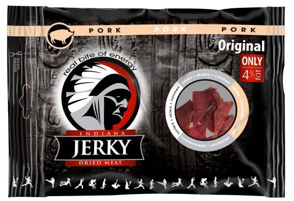 Indiana Jerky Pork Original 93 % Reduziert @ Blitzangebot ab 17.30 Uhr