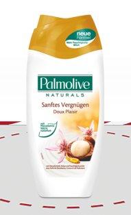 Palmolive Naturals Duschbad mit ein bisschen Glück kostenlos testen via Rossmann @Facebook