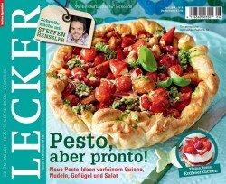 Lecker Probeabo für 1,90 € mit Verrechnungsscheck oder 6,90 € mit Prämie oder mit Buchprämie für 0,70€