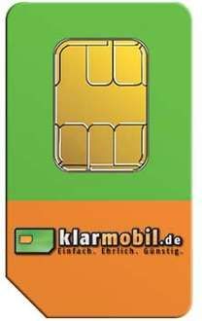 Klarmobil Allnet-Starter - 100 Minuten / 100 SMS / 200MB für 3,95€ monatlich (auf der Rechnung) *UPDATE* Wichtig!