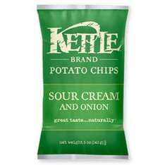 [Amazon Prime] 4 Packungen Kettle-Chips (4x 150g) Sour Cream & Sweet Onion für 5,99€ dank Coupies