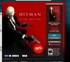 STEAM - 70% bei Gamersgate auf Hitman + Torchlight Titel -  Hitman Absolution Elite Edition ab 5,54€ möglich (mit Proxy)