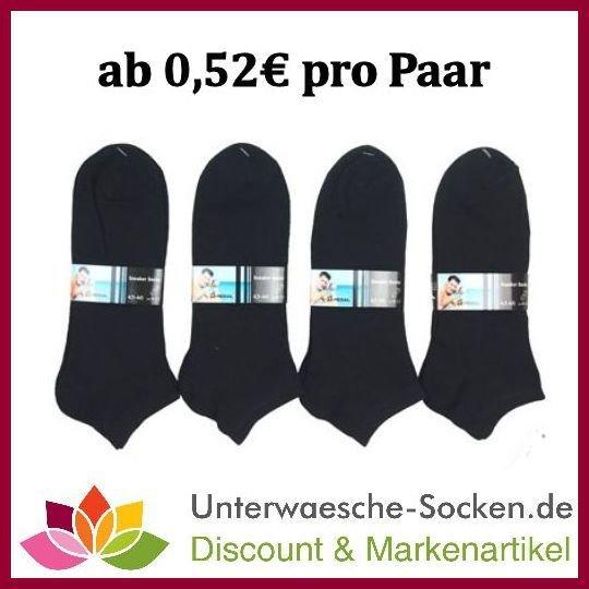 verschiedene Socken mit Gutscheincode -20% (ab 0,41€ pro Paar)
