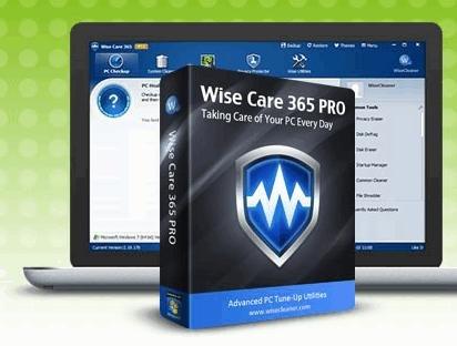 Wise Care 365 Pro 1 Jahr 1 PC incl. Updates kostenlos