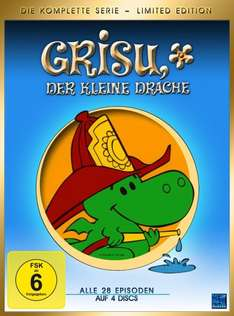[SATURN AT] Grisu, der kleine Drache - Die Komplette Serie - Limited Edition DVD