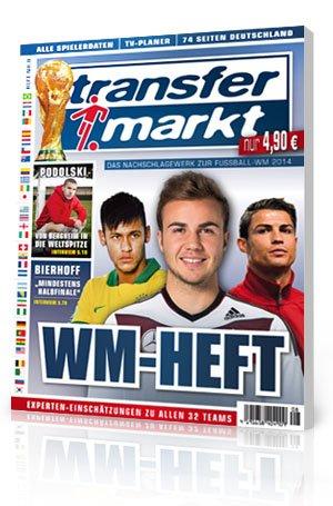 Transfermarkt wm 2014 sonderheft gratis!
