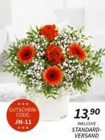 Blumen für die Frau/Freundin/Geliebte für 9,90€