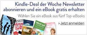 Amazon Kindle - 1 von 5 eBooks für Newsletteranmeldung kostenlos