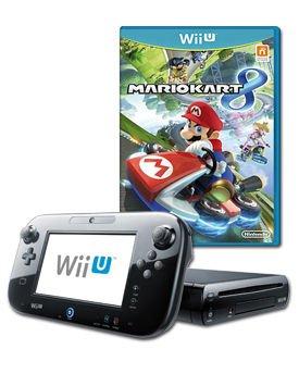 Wii U Premium 32GB + Mario Kart 8 + Game Voucher für ein kostenloses Spiel