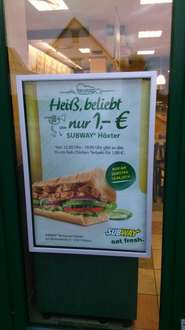 [ Lokal Höxter]  Subway Chicken Teriyaki  = 1€