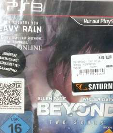 [lokal] Saturn Leverkusen Beyond Two Souls PS3 14,99€