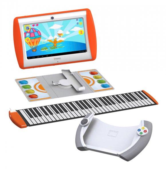 Meep-Set bestehend aus Meep Tablet Lenkrad Keyboard Spielematte 99,99€