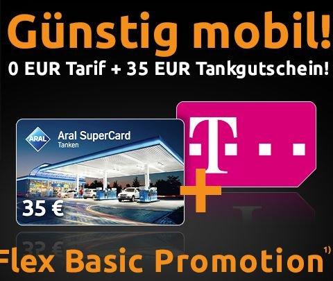 Kostenloser Handyvertrag (D1) von MD mit 35€Aral-SuperCard @ crash-tarife