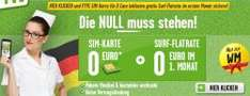 Prepaidkarte für 0 € + 1 Monat GRATIS surfen €Fyve