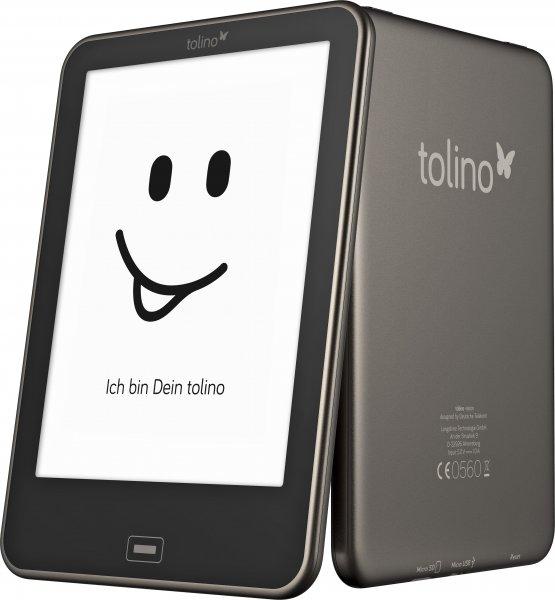 Tolino Vision rechnerisch für 90 EURO - Gratis e-Book + Gratis-Tasche