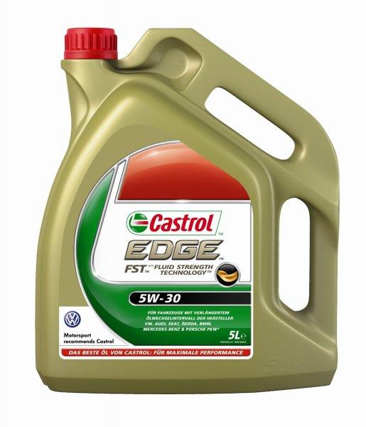 [Amazon] Castrol EDGE FST 5W-30 Synthese Motorenöl - 5L Flasche für 32,89€