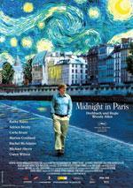 """komplett Kostenlos/Gratis ins Kino zu """"Midnight in Paris"""": 10Städte"""
