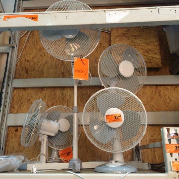 Günstige Ventilatoren bei Hornbach (online Reservierung möglich)
