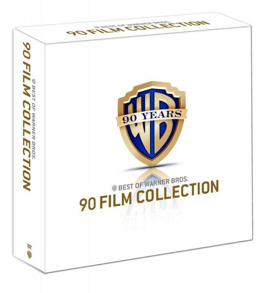 Warner Bros. 90 Film Collection Jubiläums-Edition - [98 DVDs] für 150€ @Amazon.de