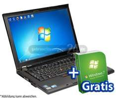 [refurbished] ThinkPad T410 Core i5 Notebook inkl. Windows 7 für 229 €