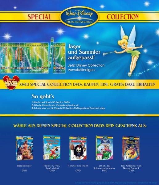 Special Collection Aktion 2014 - 2 DVD kaufen und einen 3. Titel Gratis erhalten