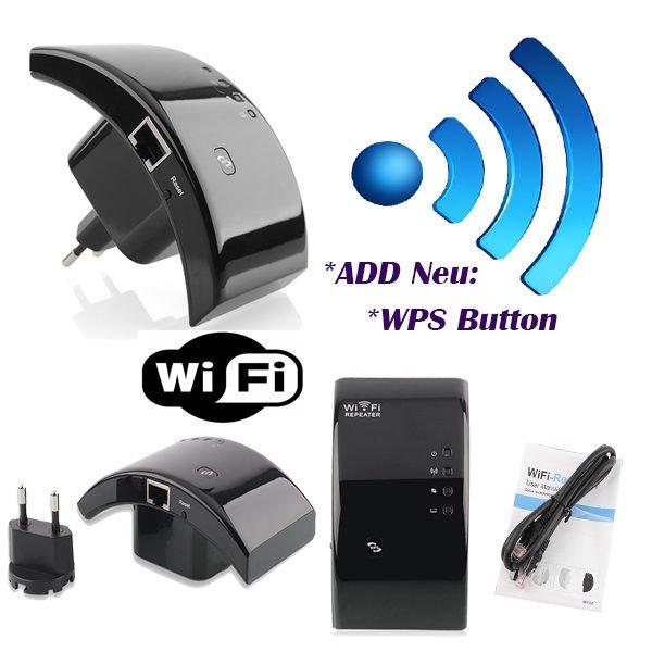 [ebay.de]WiFi Repeater Access Point Wireless Verstärker bis zu 300/150/54 Mbit WLAN DHL