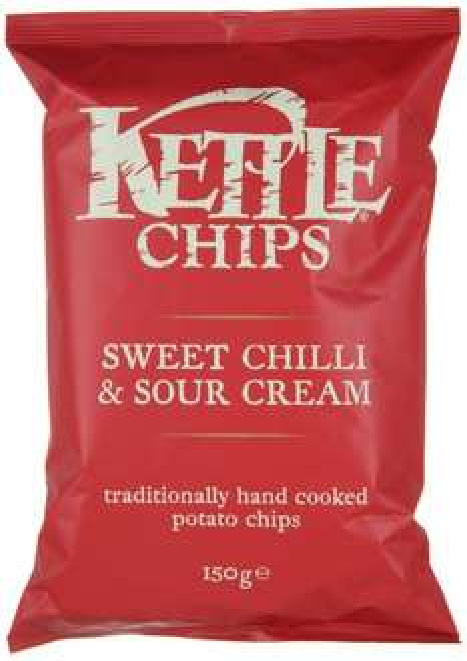 [Amazon Prime] zum letzten mal: 4x 150g Kettle Sweet Chili & Sour Cream für 5,00€ statt 11,99€ dank Coupies (evtl 2,01€, wer schon 2 mal zugeschlagen hat)