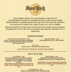 [Berlin] Cheeseburger für 0,75€ im Hard Rock Cafe