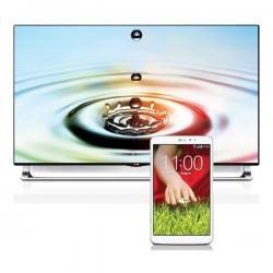 """55"""" LG LA9709 ULTRA HD 4K Fernseher + LG G PAD 8.3 für 1999@ deltateccshop.de"""