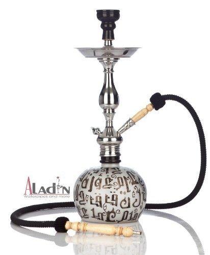 Wasserpfeife Aladin Koufy L Shisha - Schwarz