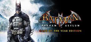 Batman: Arkham Asylum Game of the Year Edition @ STEAM Midweek Madness für 7,50€ (-75% OFF)