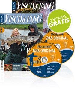 2 Monate Fisch & Fang gratis für Newsletter Anmeldung
