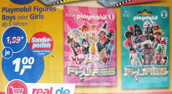 [real] Playmobil Figures Boys oder Girls für je 1€