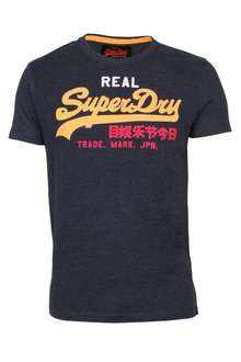 Superdry Vintage Logo Herren T-Shirt Tri-Colour Entry Tee in 6 Farben
